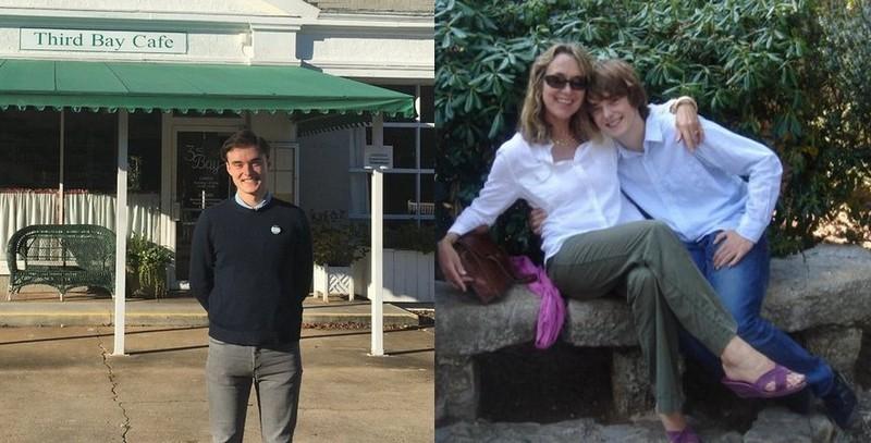 Olivia Wilde siblings - brother Charlie Philip Cockburn