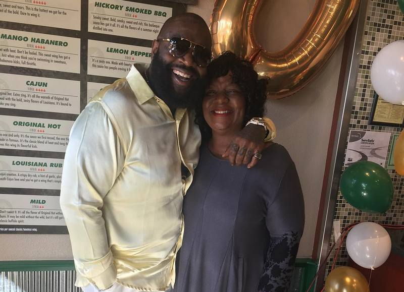 Rick Ross family - mother Tommie Roberts
