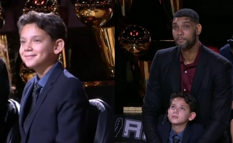 Tim Duncan children - son Sydney Duncan