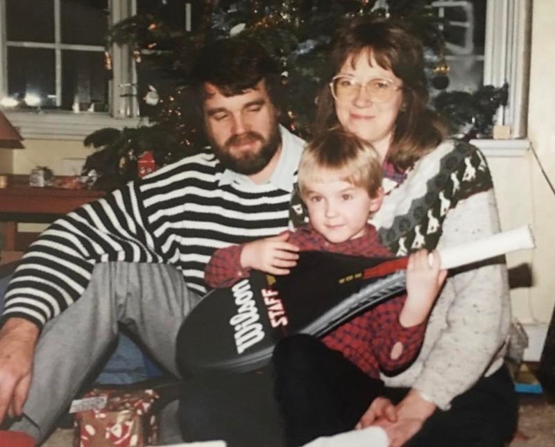 Tom Felton family - father Peter Felton