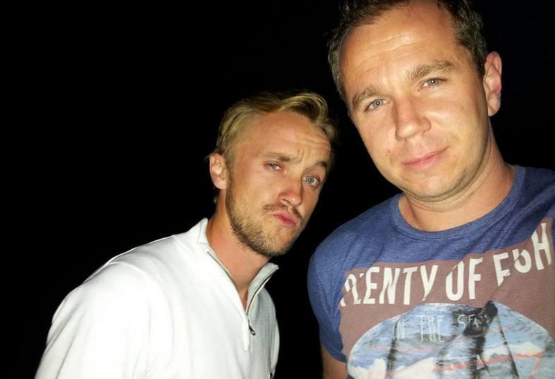 "Tom Felton siblings - brother Jonathan ""Johnny"" Felton"