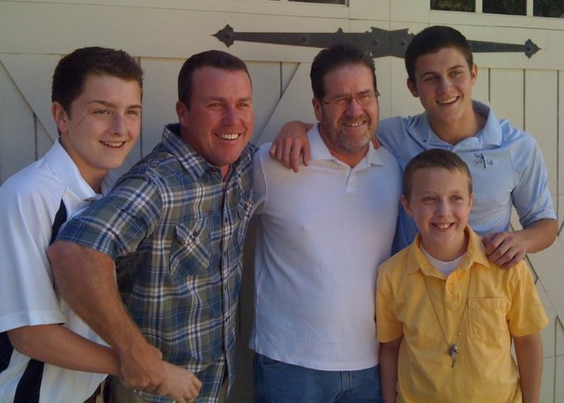 Rodney Carrington family - father Robert Carrington