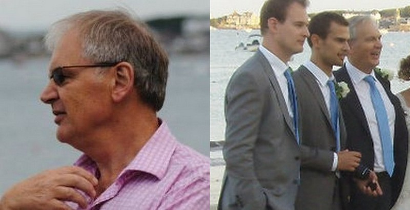 Theo James family - father Philip J. Taptiklis