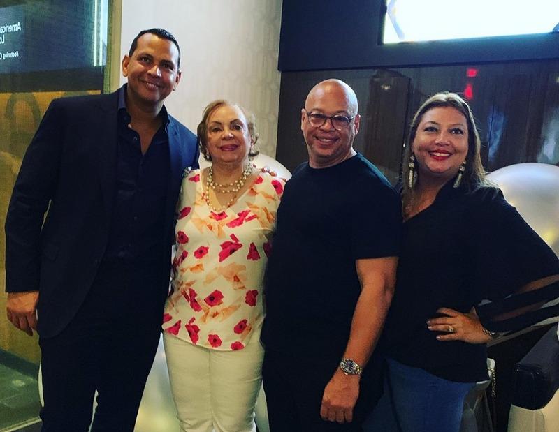 Alex Rodriguez family