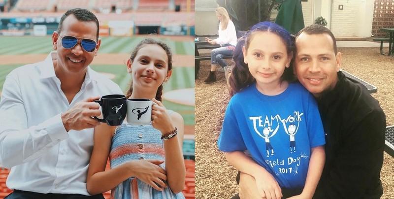 Alex Rodriguez children - daughter Ella Alexander Rodriguez