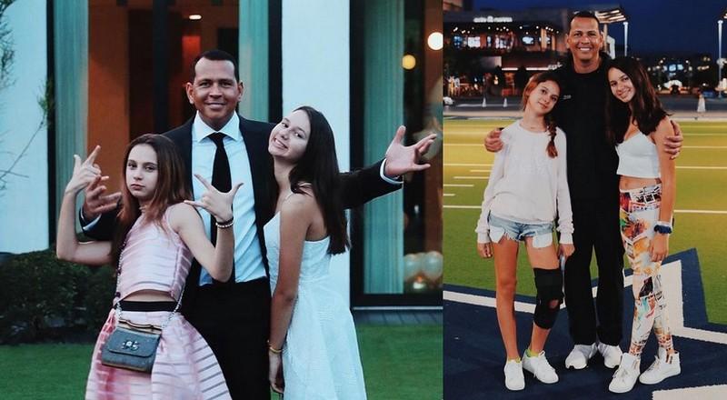 Alex Rodriguez children - daughters