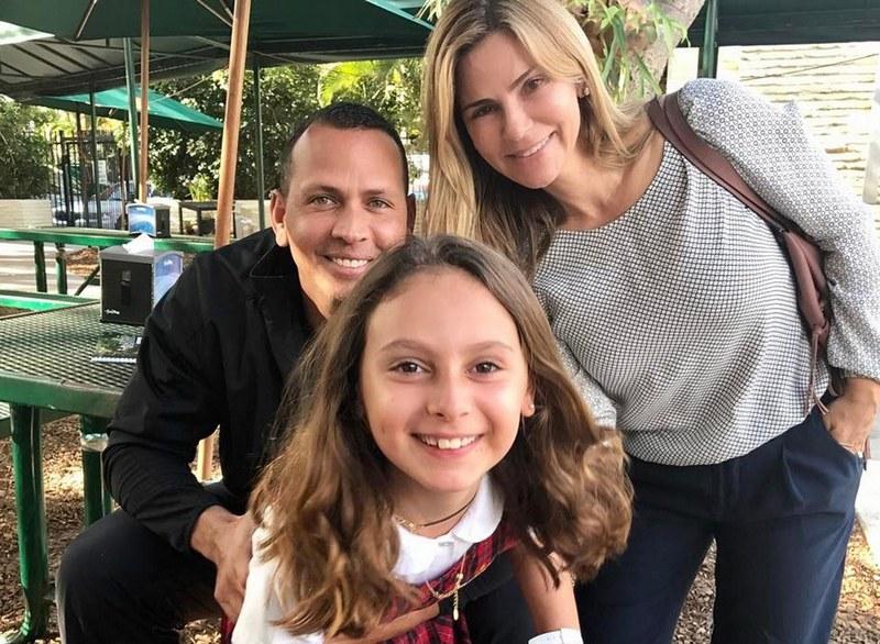 Alex Rodriguez family - ex-wife Cynthia Scurtis
