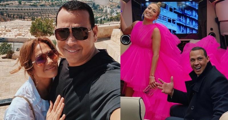 Alex Rodriguez family - girlfriend Jennifer Lopez