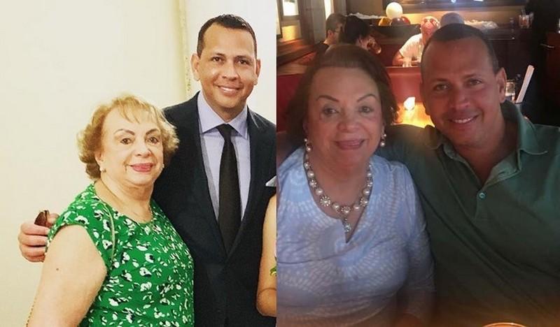 Alex Rodriguez family - mother Lourdes Rodriguez
