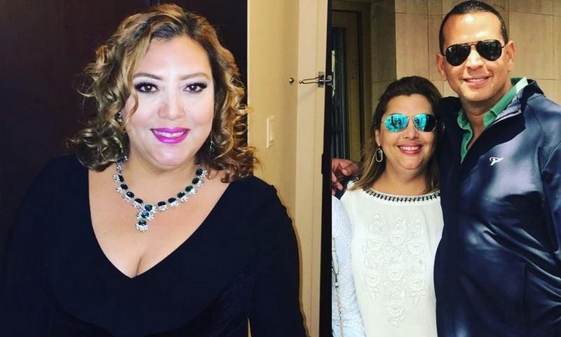 Alex Rodriguez siblings - half-sister Arlene Susy Dunand