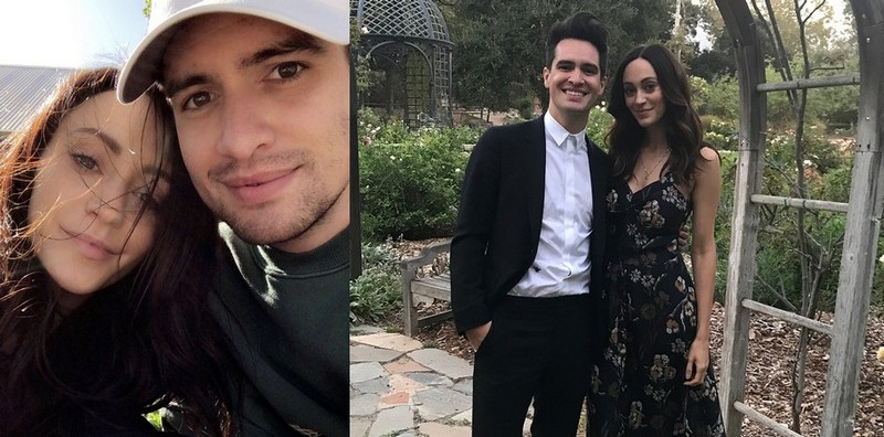 Brendon Urie family - wife Sarah Urie