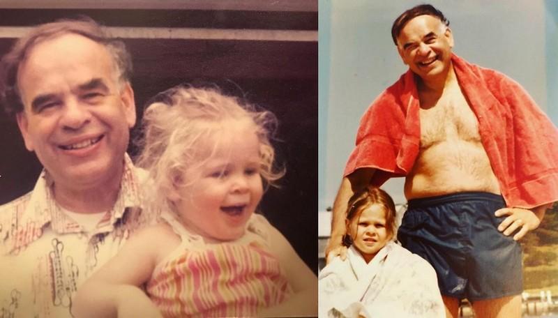 Chelsea Handler family - father Seymour Handler
