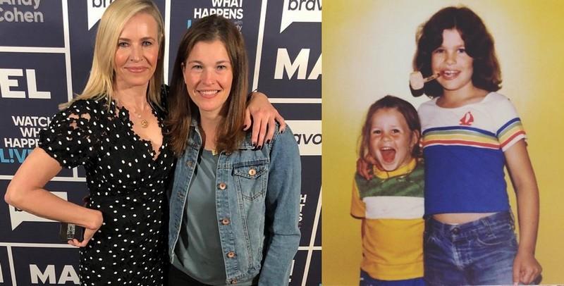 Chelsea Handler siblings - sister Shoshanna Handler