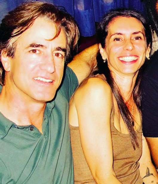 Dermot Mulroney family - wife Tharita Cesaroni