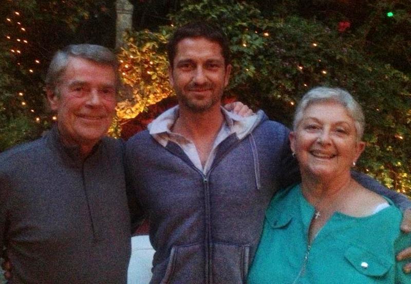 Gerard Butler family