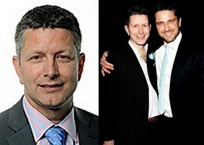 Gerard Butler siblings - brother Brian Butler