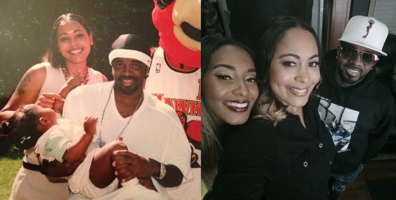 Jermaine Dupri family - ex-girlfriend Pam Sweat