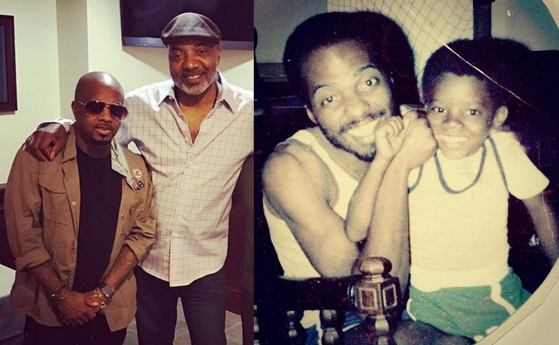 Jermaine Dupri family - father Michael Mauldin