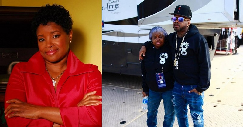 Jermaine Dupri family - mother Tina Mauldin