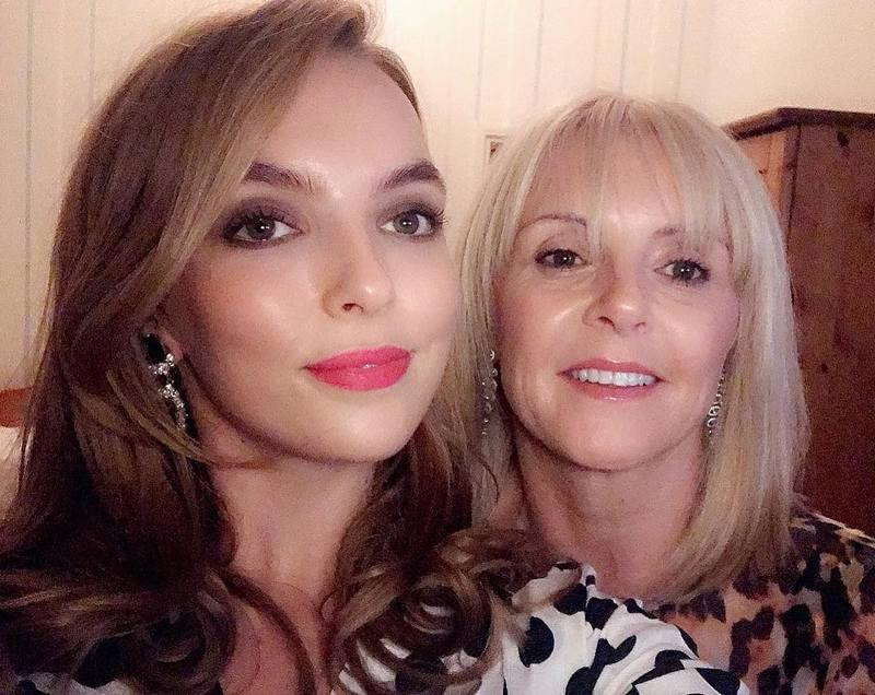 Jodie Comer family - mother Donna Comer