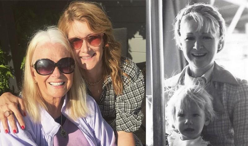 Laura Dern family - mother Diane Ladd