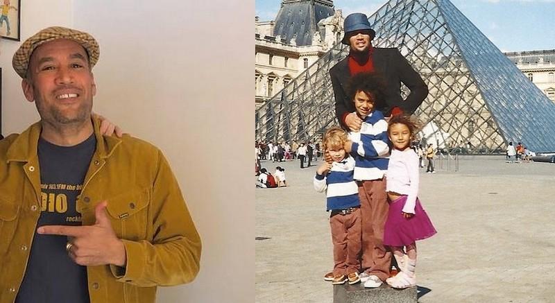 Laura Dern family - ex-husband Ben Harper