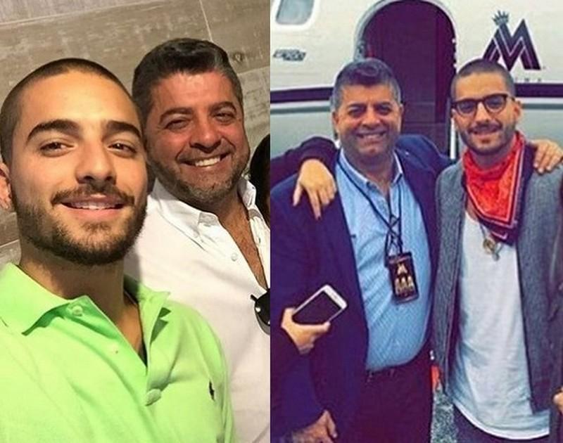 Maluma family - father Luis Fernando Londono