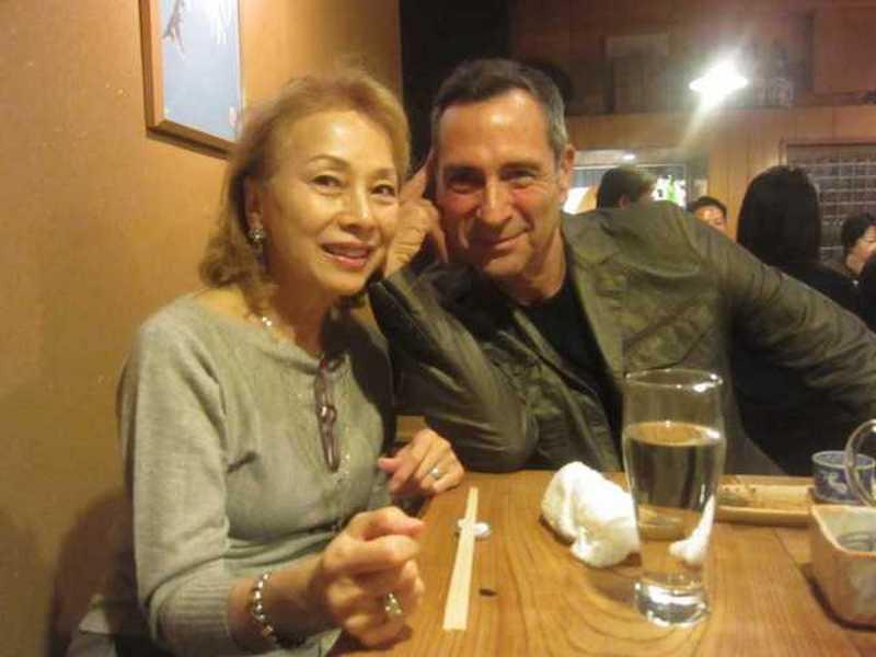 Maya Rudolph family - step-mother Kimiko Kasai