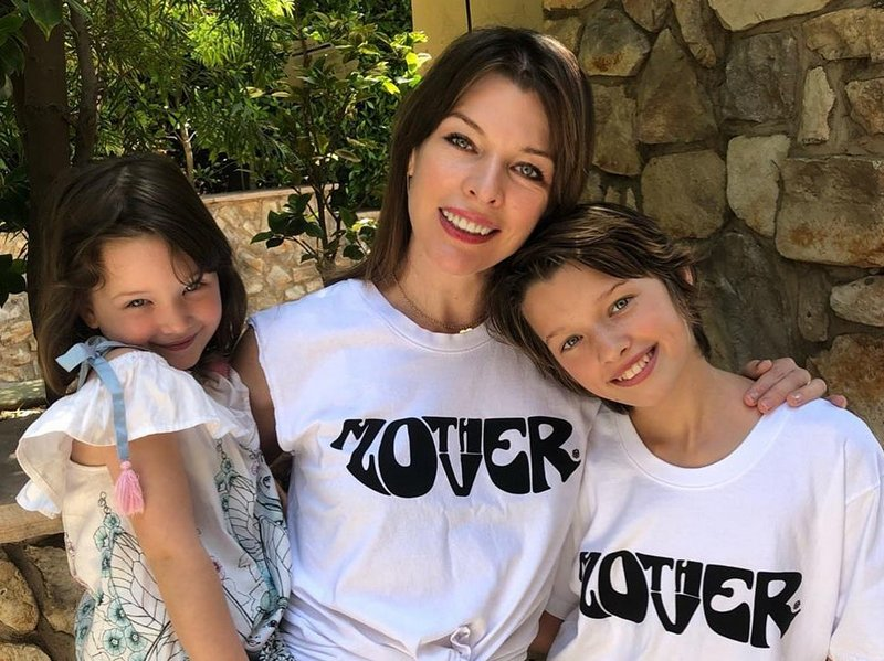 Milla Jovovich children