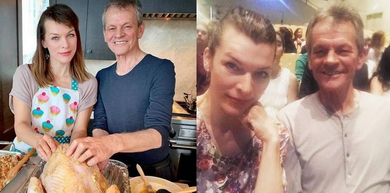 Milla Jovovich family - father Bogich Jovovich