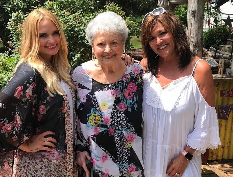 Miranda Lambert family - maternal grandmother Wanda Louise Coker