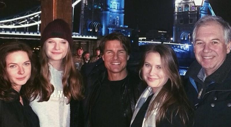Rebecca Ferguson family