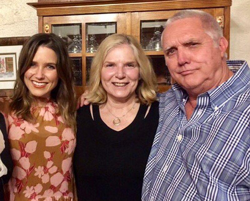 Sophia Bush family - father Charles William Bush