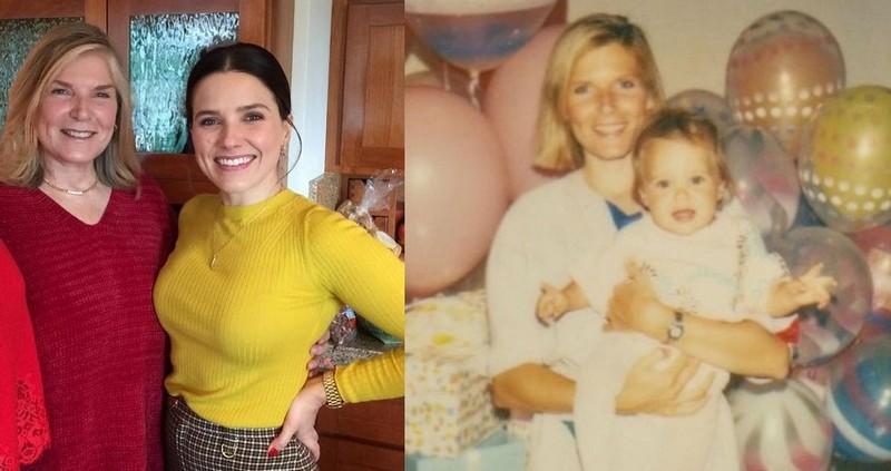 Sophia Bush family - mother Maureen Bush