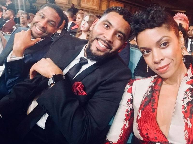 Susan Kelechi Watson siblings - 2 brothers