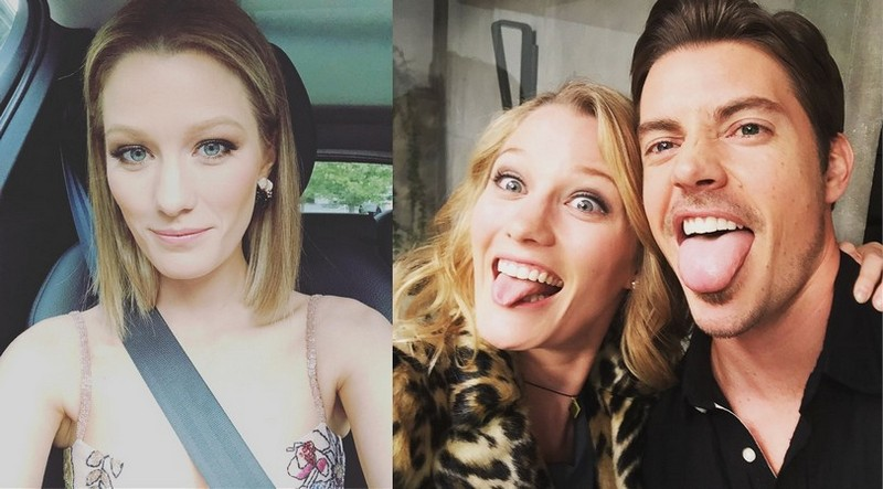 Topher Grace family - wife Ashley Hinshaw Grace