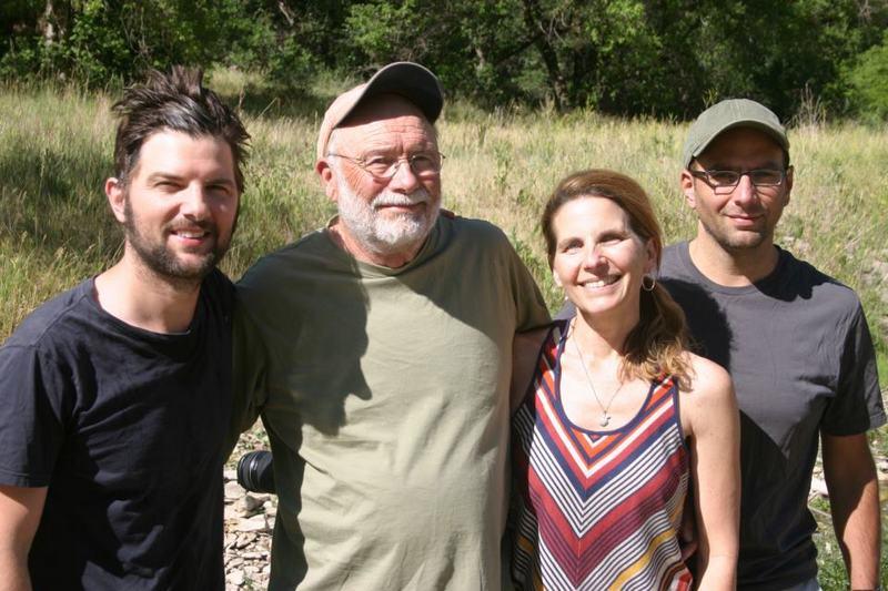 Adam Scott family - siblings and dad