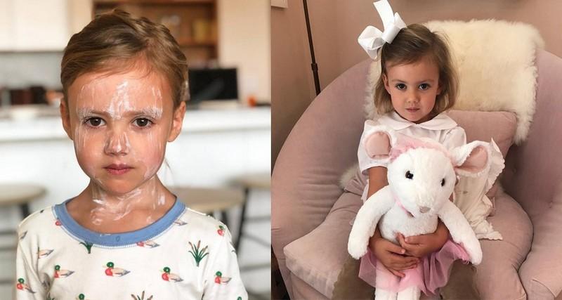 Armie Hammer children - daughter Harper Grace Hammer