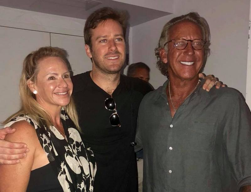 Armie Hammer family - father Michael Armand Hammer