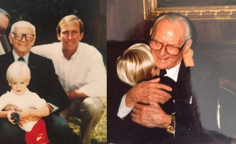 Armie Hammer family - paternal grandfather Armand Hammer