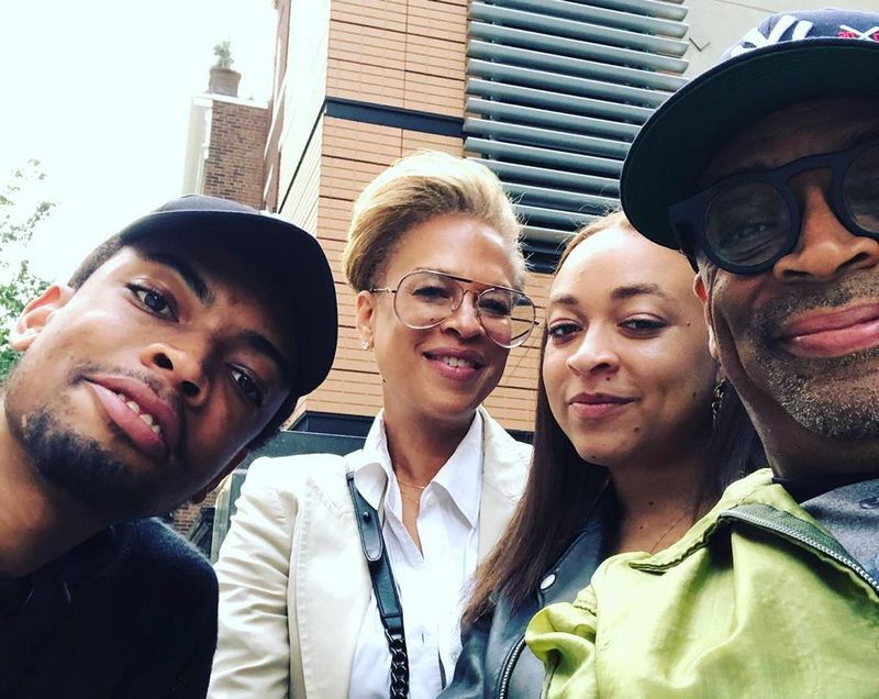 Spike Lee family