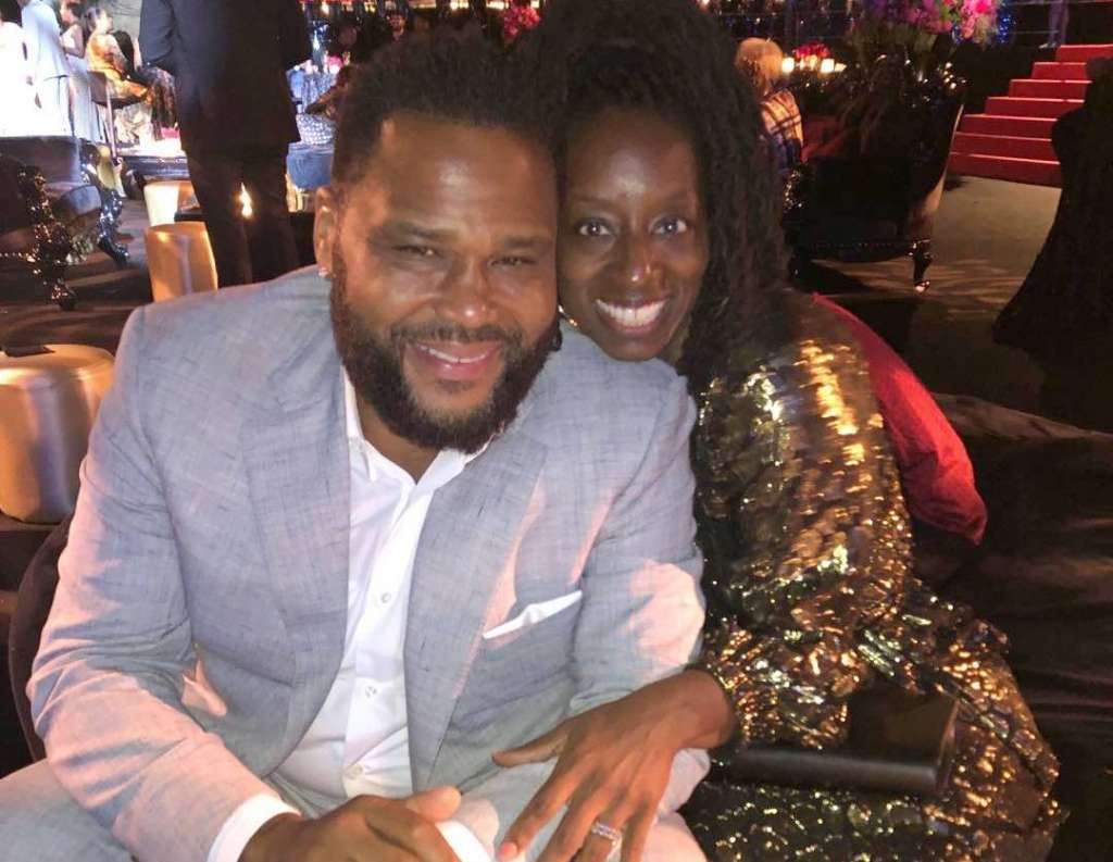 Anthony Anderson family - wife Alvina Anderson