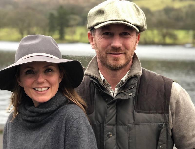 Geri Halliwell family - husband Christian Horner