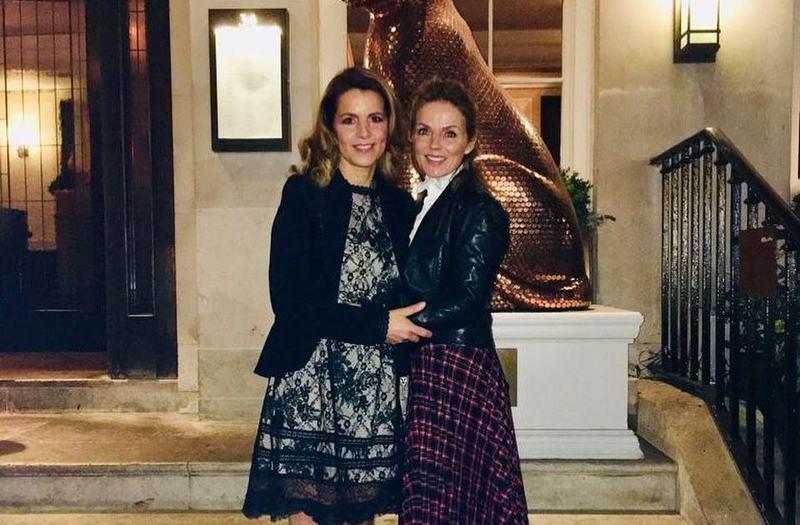 Geri Halliwell siblings - sister Natalie Halliwell-Jennings