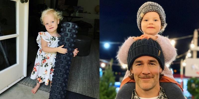 James Van Der Beek children - daughter Emilia Van Der Beek