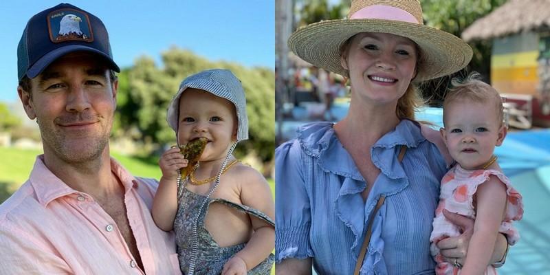 James Van Der Beek children - daughter Gwendolyn Van Der Beek