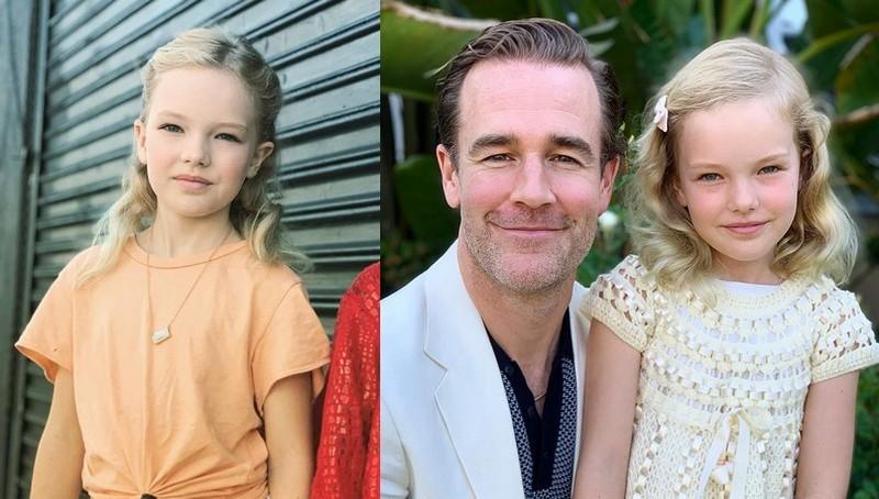 James Van Der Beek children - daughter Olivia Van Der Beek