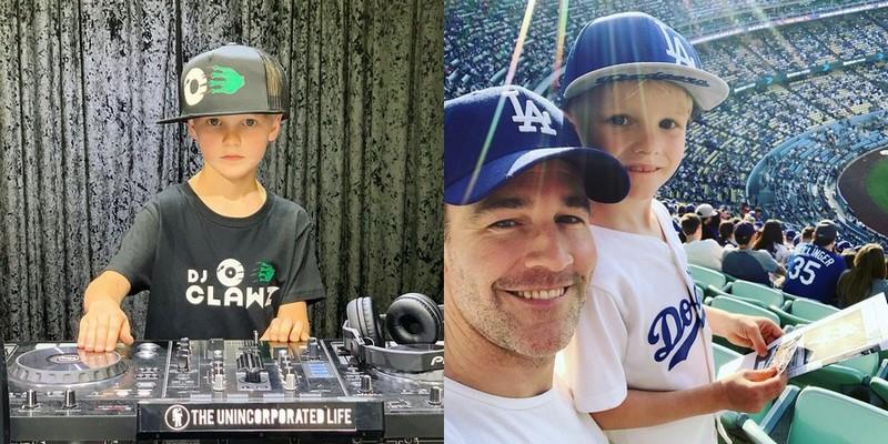 James Van Der Beek children - son Joshua Van Der Beek
