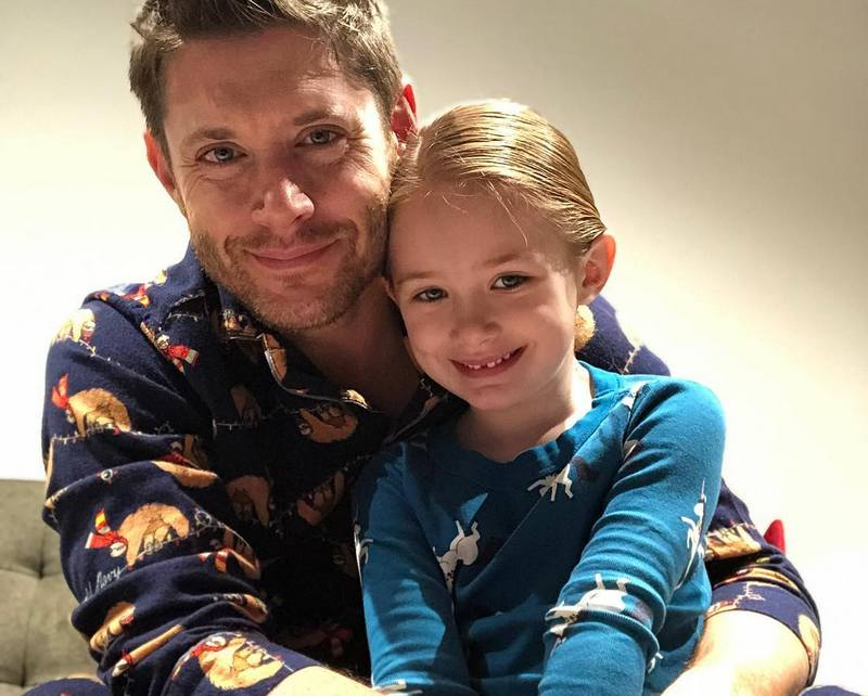 Jensen Ackles children - daughter Justice Jay Ackles