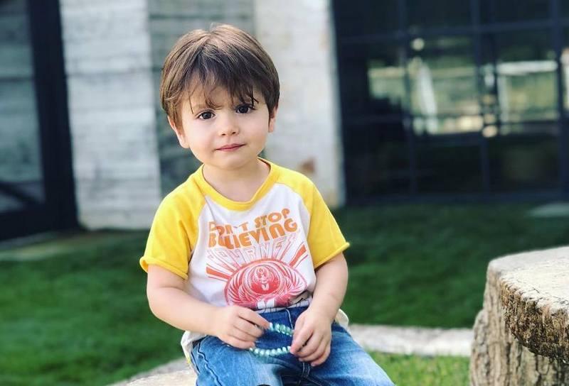 Jensen Ackles children - son Zeppelin Bram Ackles
